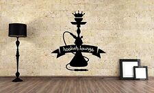 Wall Vinyl Sticker Decal Focus Room Decor Interior Hookah Bar Bong Kalian VY479