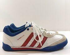 Rare Adidas Mens Red White & Blue Samba Nua II Soccer Shoes Size US 8