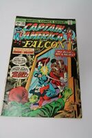 Captain America and Falcon #186 Origin of Falcon F/VF Marvel Comics 1975