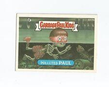 Polluted Paul 611b - Garbage Pail Kids GPK Original Series 15 Card 1988