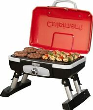 Portable Tabletop Gas BBQ Grill Pontoon Boat Barbecue Small Apartment Balcony