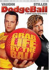 USED DVD // DODGE BALL - Ben Stiller, Christine Taylor, Vince Vaughn, Rip Torn,
