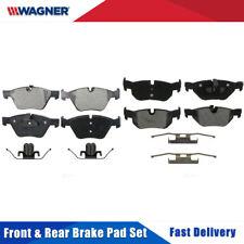 Front & Rear 8 PCS Wagner Semi-metal Disc Brake Pads Set Kit For BMW 325I 2006