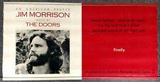 Jim Morrison An American Prayer 1978 PROMO POSTER The Doors