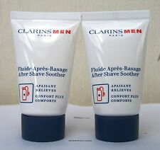 CLARINS MEN APRES SHAVE Soother - 2 x 12ml-SENZA SCATOLA