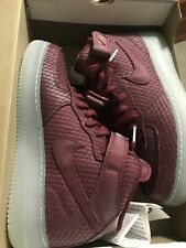 Nike Air Force 1 Mid 07 LV8 Team Red Clear SIZE 10M