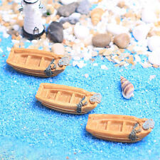 1pcs Micro Oeacn Ship Model Mini Boat Ornament Landscape DIY Bansai Decor