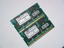 2GB 2x1GB PC2700 DDR333 CL2.5 SO-DIMM 333Mhz KINGSTON LAPTOP SODIMM RAM SPEICHER
