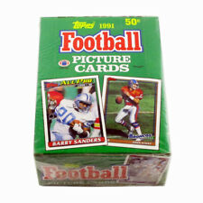 1991 Topps Football Box (36 Packs)