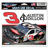 "AUSTIN DILLON #3 DOW RACING 4""1/2 X 5""1/2 NASCAR MULTI-USE DECAL 2014 RCR"