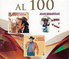 Joan Sebastian,Antonio Aguilar, El Piporro,BOX SET 3CD New Nuevo sealed