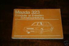Betriebsanleitung Mazda 323