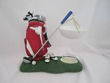 Yankee Candle Hanging Tart Wax Burner Warmer Red White Golf Bag NEW