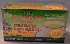 Royal King 100% Natural Chinese Herbal Tea Sinus Buster Tea 20 Tea Bags