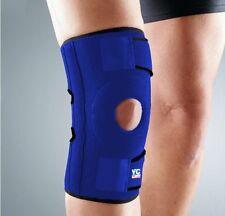 Medium Blue Supporto Per Ginocchio Aperta STABILIZZATORI tendine rotula 2 x soggiorno regolabile palestra