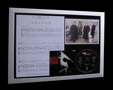 U2 All I Want Is You LTD Nod CD MUSIC FRAMED DISPLAY!!