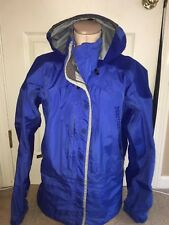 Marmot Mens sz Medium SNOWBOARD SKI SHELL Jacket  BLUE hooded