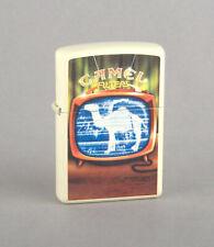 Zippo 2007 Camel Book Series Camel On Television Lighter (Cream Matte) CZ757