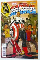 Marvel ALL-NEW CAPTAIN AMERICA (2015) #1 NO FLEX ZONE Variant Sam WILSON NM
