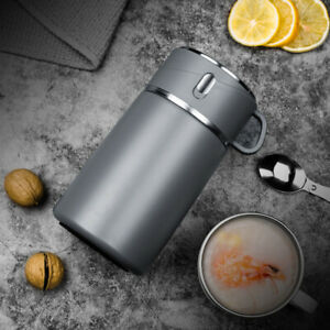 Stainless Steel Porridge Heat Preservation Bucket Lunch Box Household Soup Cup
