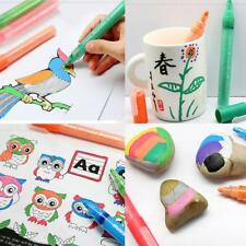 8 Color Acrylic Paint Marker Pen for Rock Painting Scrapbook Ceramic Fabric