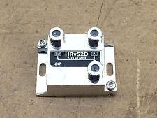 2-WAY SATELLITE TV ANTENNA SIGNAL SPLITTER 2 GHz Holland Electronics HRV S2D