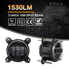 "3.5"" 18W LED Driving Fog Light Spotlight Headlight Spot Beam Front Bumper Lamp"