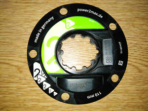 Power2max S Type Power Meter Sram Crank 3 Bolt Interface - 110mm x 5 PCD