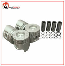 PISTON & RING SET MITSUBISHI 4D35 FOR ROSA CANTER & FUSO TRUCK DIESEL