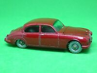 Matchbox Lesney No.65b Jaguar 3.8 Litre Sedan (RARER METALLIC RED)
