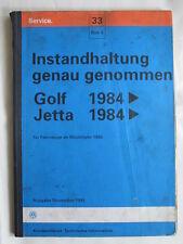VW Golf 2+syncro+GTI+16V+G60+TD Jetta Reparaturanleitung Wartung+Service+Prüfung