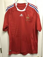 EUC 2007/09 France Away XL Jersey Adidas Red