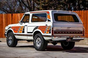 69-72 Chevy Blazer K5 Sport Bird / Feathers Edition Decals