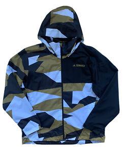 ADIDAS Mens Terrex Multi 2 Layer Rain RDY Jacket Windbreaker GI7291 $100 NWT XL