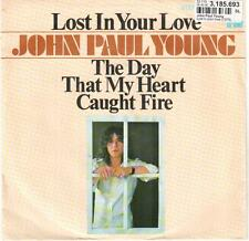 """<3386-11> 7"""" Single: John Paul Young - Lost In Your Love"""