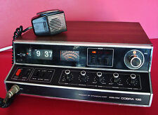 Working SSB/AM COBRA 135 AM/USB/LSB CB RADIO with Working Flip clock