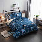 Single/Double/Queen/King Bed Quilt/Doona/Duvet Cover Set Bedding Set Elephant