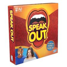 Brand New Speak Out Game Board Party Game Speak Up Mouth Piece Challenge Game