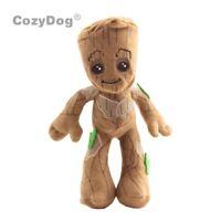 Cartoon Guardians of the Galaxy Baby Groot Plush Doll Stuffed Animal Toy 9''