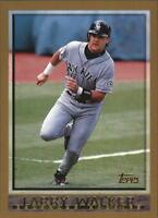 1998 Topps Baseball Cards 1-250 Pick From List