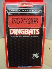 WADDINGTONS MAGNETIC POCKET EDITION TRAVEL DINGBATS COMPLETE VGC FREE UK POST