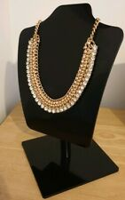 Accessorize Pink & Gold Statement Necklace