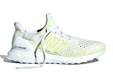 Adidas Ultraboost Clima Solar Yellow White Men's Size 9 Running Shoes AQ0481