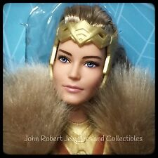 BARBIE HIPPOLYTA MOTHER OF WONDER WOMAN QUEEN OF THE AMAZON GODDESSES IN STOCK