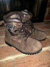 Red Head Brand Cub Camouflage Hiking Hunting Trail Walking Boots Sz 5 ��tw4j5