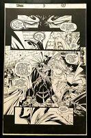 Spawn #9 pg. 17 Todd McFarlane 11x17 FRAMED Original Art Print Comic Poster