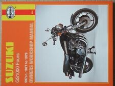 Suzuki GS1000 - 997cc - Fours - Owners Workshop Manual - 1977 to 1979 - NEW