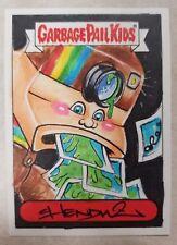 2015 GARBAGE PAIL KIDS Series 1 Color Sketch Card by Chenduz Pola Roy