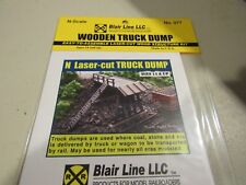 Blair Line N Scale Truck Dump Kit #077  Bob The Train Guy