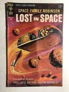 SPACE FAMILY ROBINSON, LOST IN SPACE #34 (1969) Gold Key Comics VG+